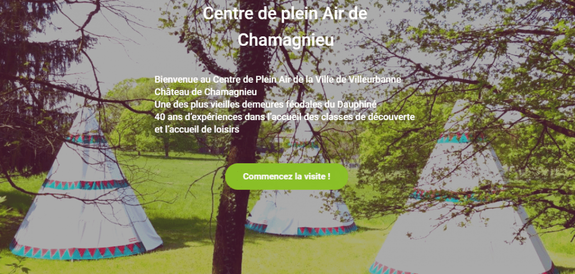 Centre de plein air de Chamagnieu (site Internet)