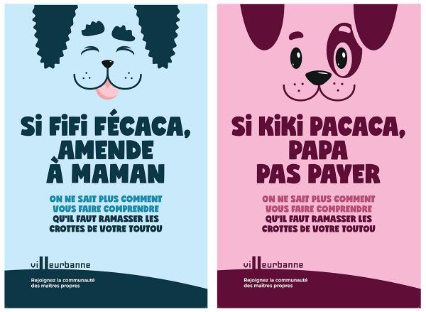 Campagne communauté des maîtres propres à Villeurbanne